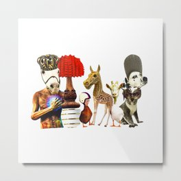 Zoo carnivale Metal Print