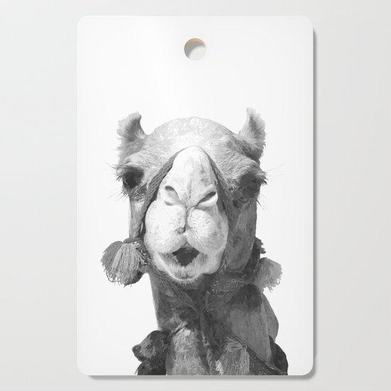 Black and White Camel Portrait by alemi
