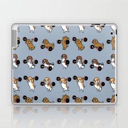 Olympic Lifting Beagles Laptop & iPad Skin