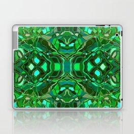 Abstract #8 - VIII - Mint Laptop & iPad Skin