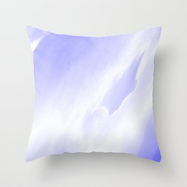 Over the Clouds Throw Pillow