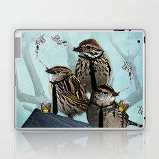 Smoking Birds Print Laptop & iPad Skin