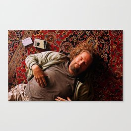 The Big Lebowski Movie Poster Canvas Print