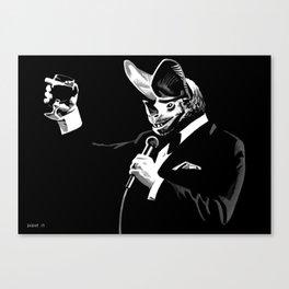 Bat Crooner Canvas Print