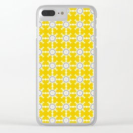 Moroccan Mix No.3 Clear iPhone Case