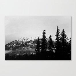Sombre Canvas Print