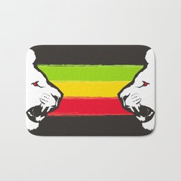 Rasta Lions (The Kingdom) Bath Mat