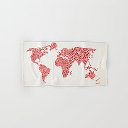 Love, You Are My World Hand & Bath Towel