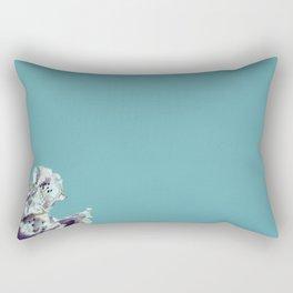 Blue with a hint of... Rectangular Pillow