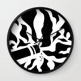 Smokey Cig Wall Clock