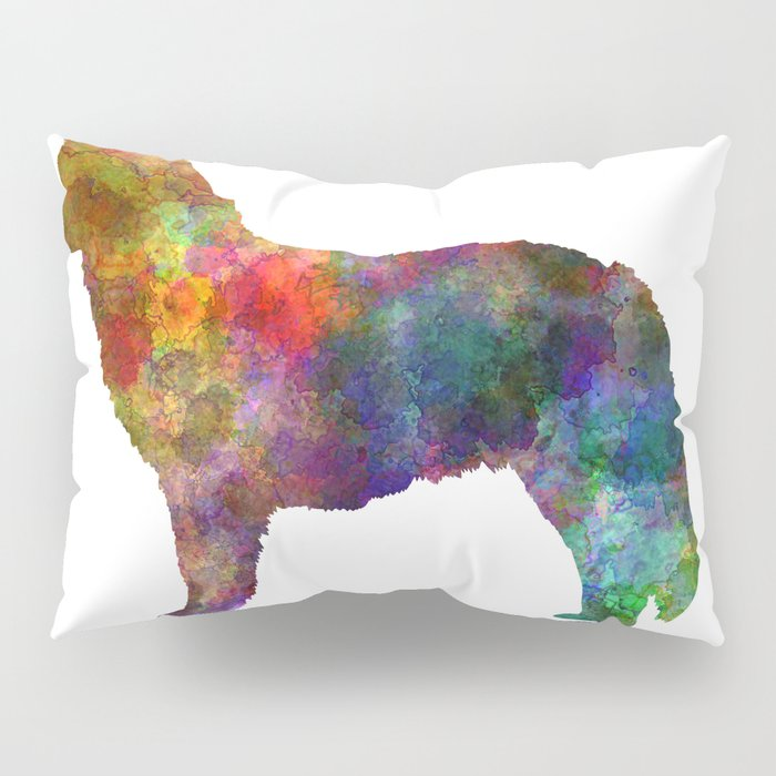 Nova Scotia Duck Tolling Retriever in watercolor Pillow Sham