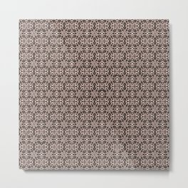 Pale Dogwood Floral Metal Print