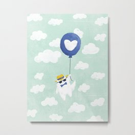 Fly Away With Me Metal Print