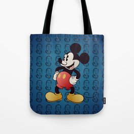 Blue Dali Tote Bag
