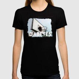 Diabetes Basketball T-shirt