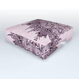SACRED MANDALA Outdoor Floor Cushion