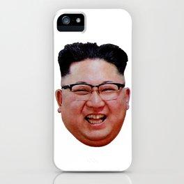 Supreme Leader Kim Jong-Un, North Korea DPRK iPhone Case