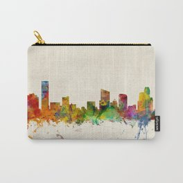 Grand Rapids Michigan Skyline Cityscape Carry-All Pouch