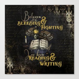 Reading & Writing Canvas Print