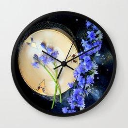 The Bluebells And Gold Fleet Wall Clock