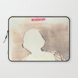 """withdrawn"" Laptop Sleeve"