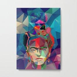 Frida Forever Metal Print