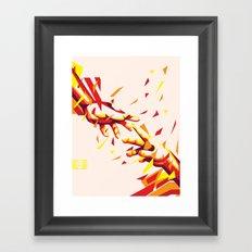Rise Together Framed Art Print