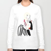 celebrity Long Sleeve T-shirts featuring Celebrity by Nunyah Bidness