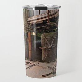 Abandoned Lonaconing Silk Mill Travel Mug