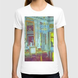 Italian Renaissance Romanesque Palazzo Grand Hall Portrait by Konstantin Yuon T-shirt
