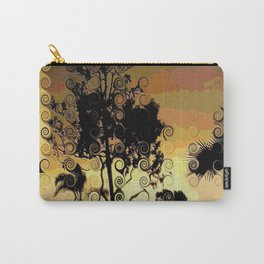 Winter sunset trees Carry-All Pouch