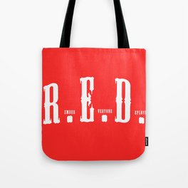 RED(R.E.D.) Tote Bag