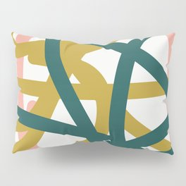 Abstract Lines 02A Pillow Sham