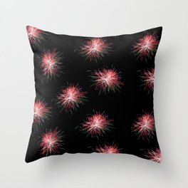 Fireworks! Throw Pillow