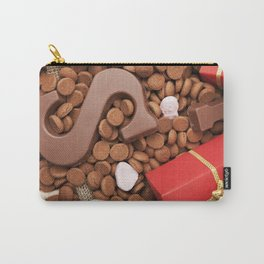 I - Bag with treats, for traditional Dutch holiday 'Sinterklaas' Carry-All Pouch