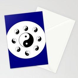 Yin and Yang 14 - Tao,Zen,Taoism,Dao,Harmony,religion,buddhism,buddhist,taijitu,taiji,taoist,china Stationery Cards