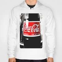 coca cola Hoodies featuring Coca-Cola Nostalgia by Vorona Photography