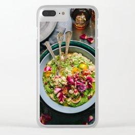 vegan Clear iPhone Case