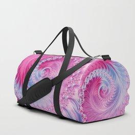 Crystal Spiral Abstract Duffle Bag