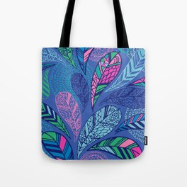 Feather Doodle Tote Bag