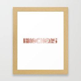 KNOCKERS Framed Art Print
