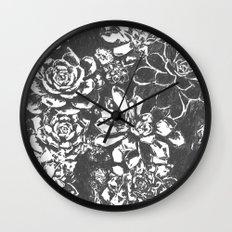 Garden of Stone Wall Clock