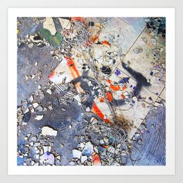 Broken Ensemble Art Print