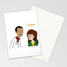 Daria meets Andres Bonifacio Stationery Cards