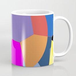 Colored oval abstraction Coffee Mug