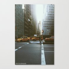 Streets of NYC Canvas Print