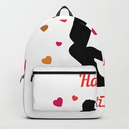 Happy Valentin's Day Sexy Hearts for enamoured 0425 Backpack