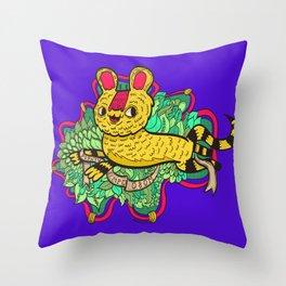 Semper Osom Throw Pillow