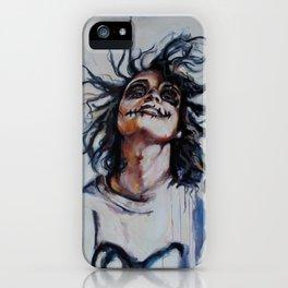 Skeleton Girl iPhone Case