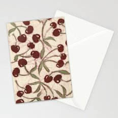 Sweet Cherry Batik Stationery Cards